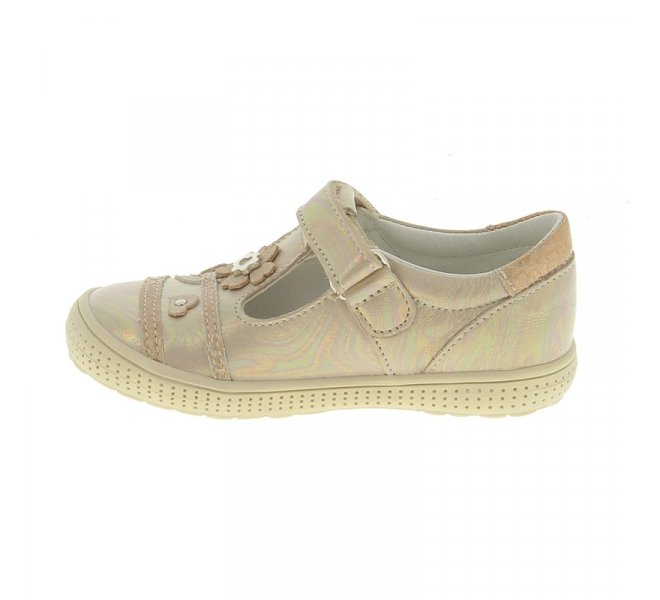 Chaussures basses fille - CHAUSSMOME - Beige