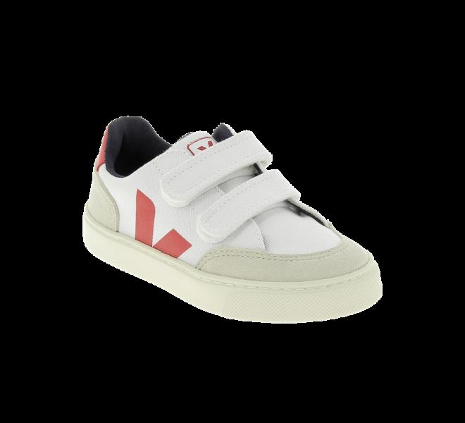 Baskets garçon - VEJA - Blanc