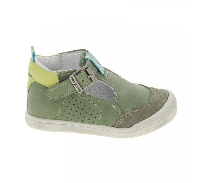Chaussures homme - BABYBOTTE - Kaki