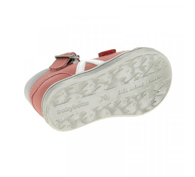 Chaussures homme - BABYBOTTE - Rouge