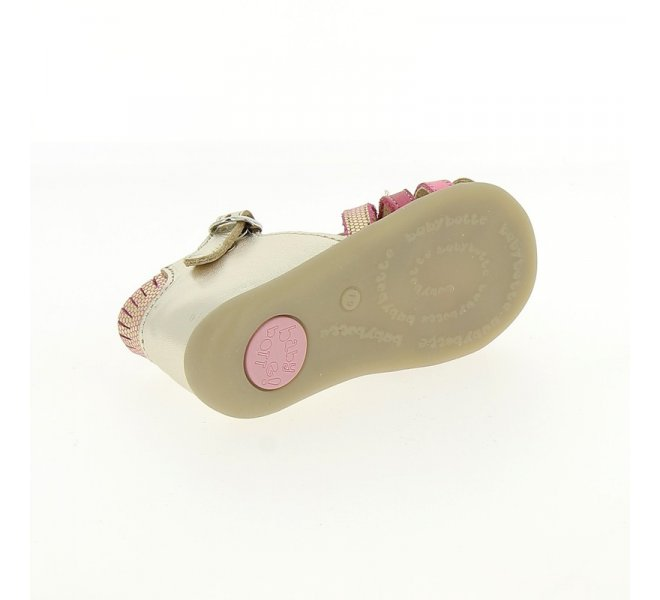 Nu-pieds fille - BABYBOTTE - Dore
