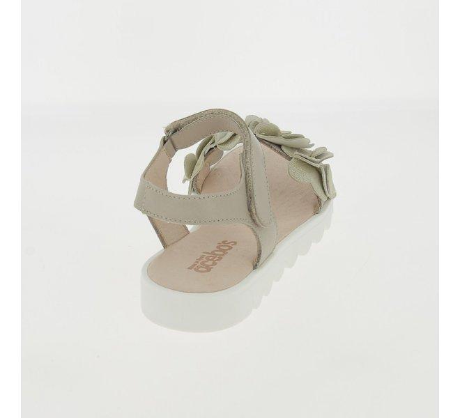 Nu-pieds fille - ACEBOS - Beige