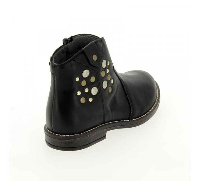 Bottes fille - BABYBOTTE - Noir