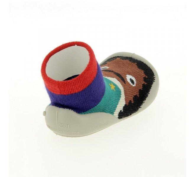 Pantoufles garçon - COLLéGIEN - Multicolore