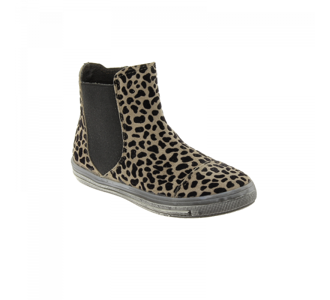 Bottes fille - ACEBOS - Taupe