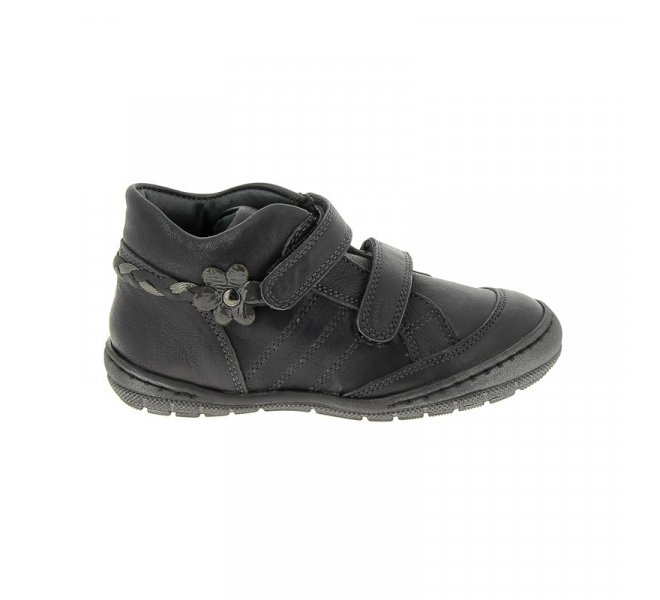 Bottines fille - CHAUSSMOME - Gris