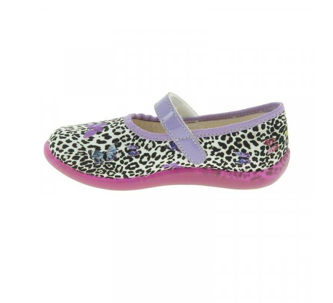 Pantoufles fille - BELLAMY - Violet