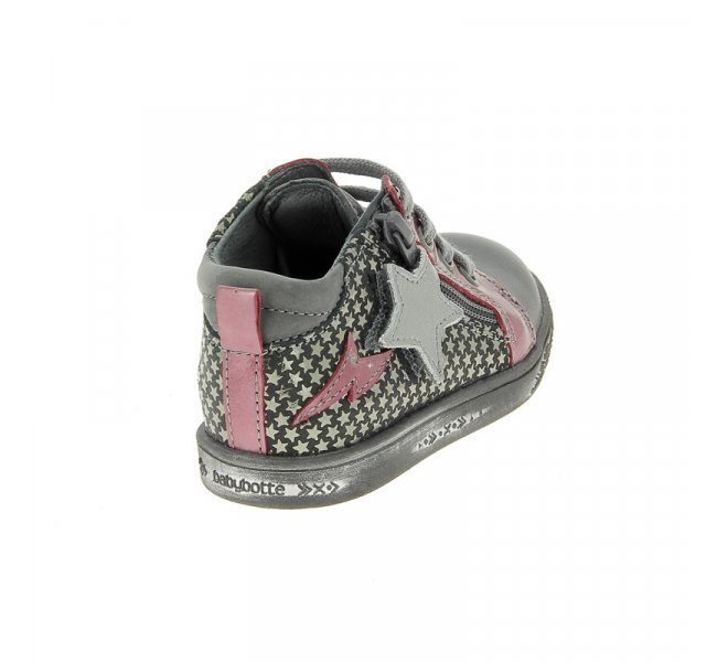 Bottines fille - BABYBOTTE - Gris