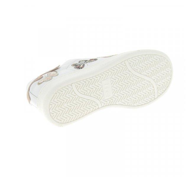 Baskets fille - CLIC - Blanc