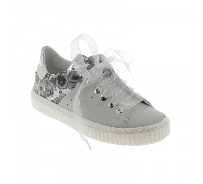 Baskets fille - COMPAGNUCCI - Blanc