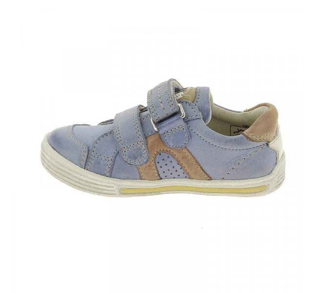 Chaussures à lacets garçon - NOEL - Bleu ciel