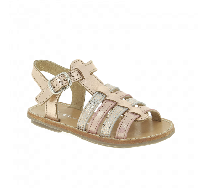 Nu-pieds fille - CHAUSSMOME - Rose