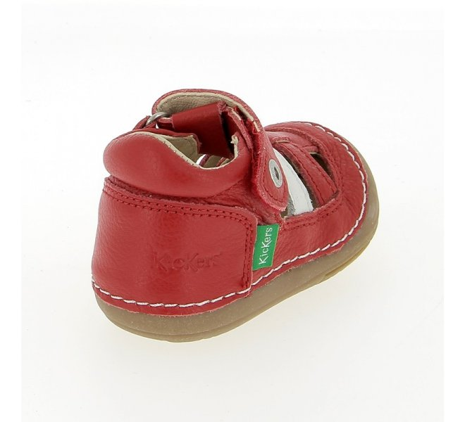 Chaussures homme - KICKERS - Rouge