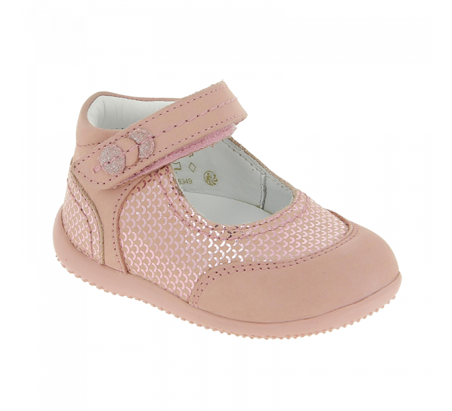 Bottines été fille - KICKERS - Rose