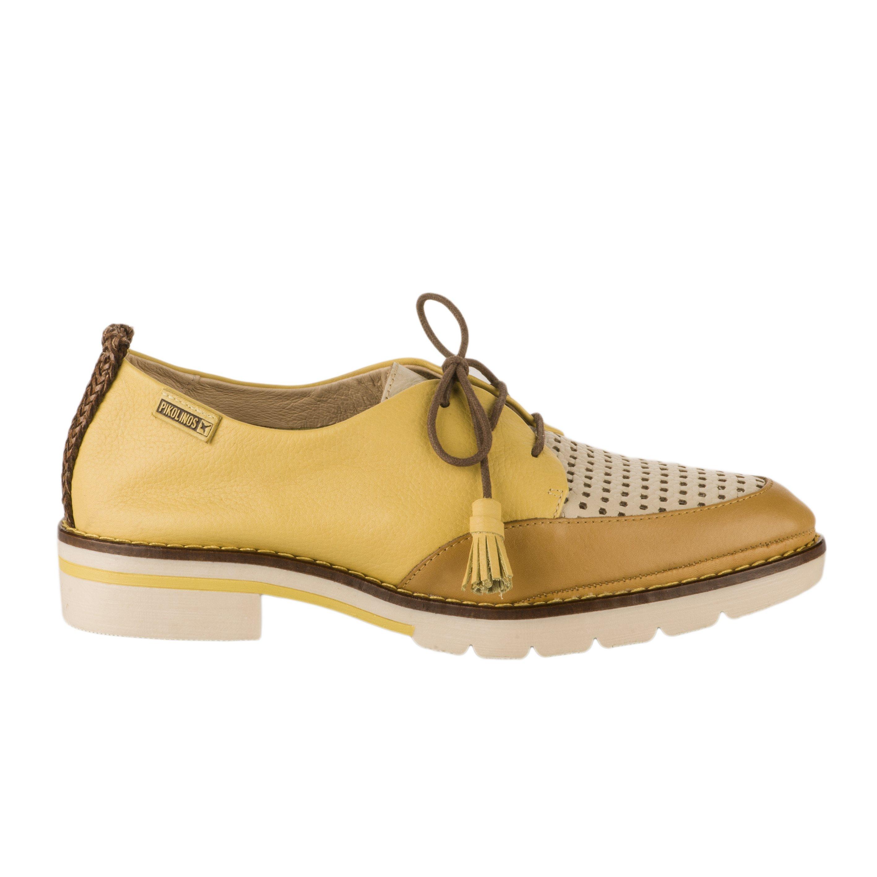 aa3d6691cdc35d Chaussures à lacets Pikolinos jaune femme - SITGES - 67234