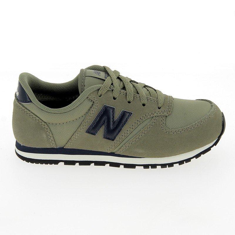 Chaussures New balance kaki homme - KL 420 Daim Croute Kaki - CM0875