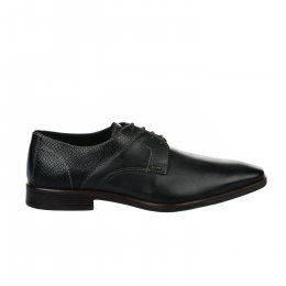 Chaussures à lacets homme - FIRST COLLECTIVE - Noir