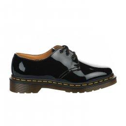 Chaussures à lacets femme - DR MARTENS - Noir verni