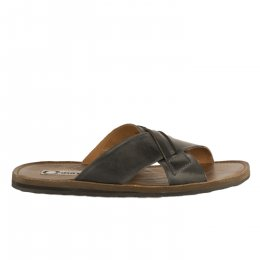 Mules homme - FIRST COLLECTIVE - Bleu marine