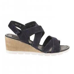 Nu pieds femme - MIGLIO - Bleu marine