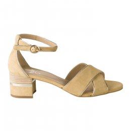 Nu pieds femme - MIGLIO - Jaune