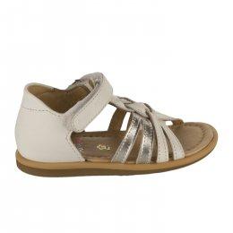 Nu-pieds fille - SHOO POM - Blanc