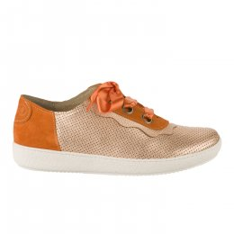 Baskets mode femme - CASTA  - Orange