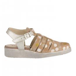Chaussures à lacets femme - PAPUCEI - Beige