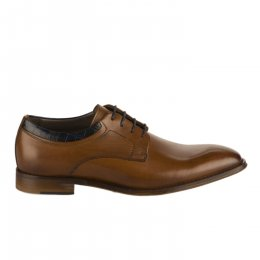 Chaussures à lacets homme - FIRST COLLECTIVE - Naturel
