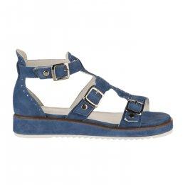 Nu pieds femme - REGARD - Bleu