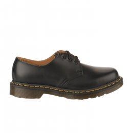 Chaussures à lacets mixte - DR MARTENS - Noir mat