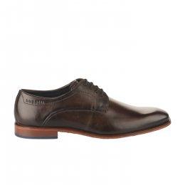 Chaussures à lacets homme - BUGATTI - Marron fonce