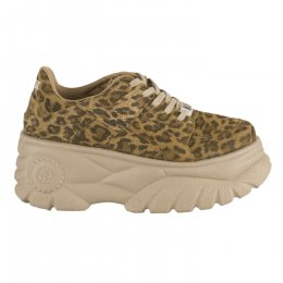 Baskets fille - NO BOX - Leopard