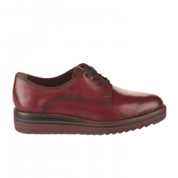 Chaussures à lacets femme - TAMARIS - Rouge