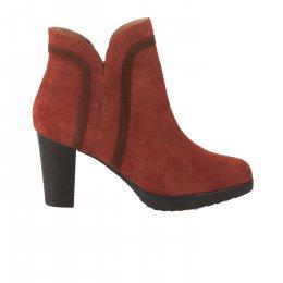 Boots femme - EMILIE KARSTON - Rouge brique