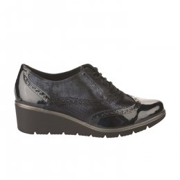 Chaussures à lacets femme - GEO REINO - Bleu marine
