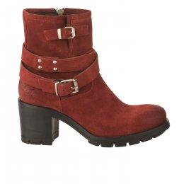 Boots femme - PAOYAMA - Rouge