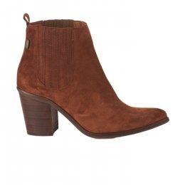 Boots femme - HIJOS DE PEDRO ARROYO - Rouille