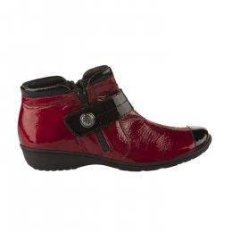 Chaussures de confort femme - GEO REINO - Rouge