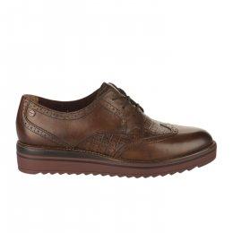 Chaussures à lacets femme - TAMARIS - Marron