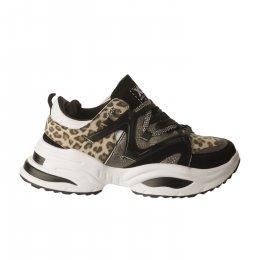 Baskets mode femme - XTI - Leopard