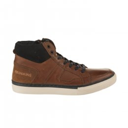 Baskets garçon - REDSKINS - Marron cognac