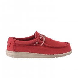 Baskets homme - DUDE - Rouge brique