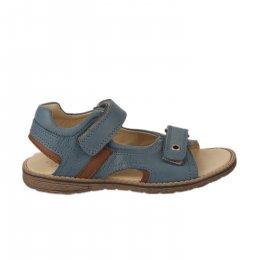 Nu-pieds garçon - FéTéLACé - Bleu gris