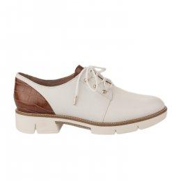 Chaussures à lacets femme - TAMARIS - Blanc