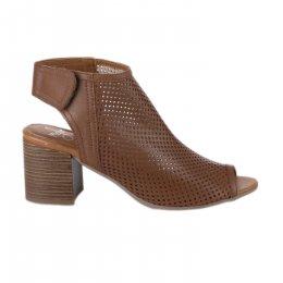 Nu pieds femme - MIGLIO - Camel