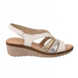 Nu pieds femme - MARKO' - Blanc