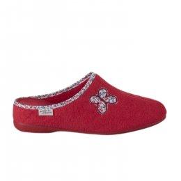 Chaussures femme - LA MAISON DE L'ESPADRILLE - Rouge