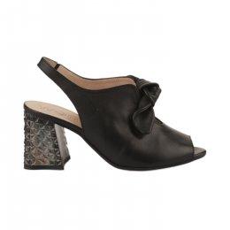 Nu pieds femme - WONDERS - Noir