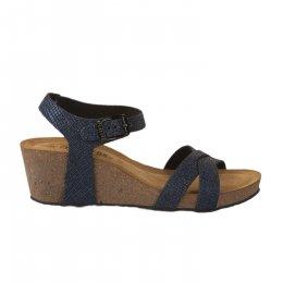 Nu pieds femme - PLAKTON - Bleu marine